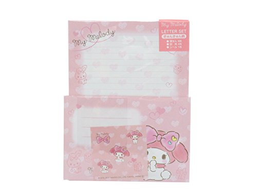 - My Melody Letter Set Japan Special Edition Pink