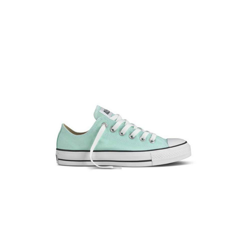 Converse Unisex Chuck Taylor All Star Ox Low Top Classic Beach Glass Sneakers - 10.5 B(M) US Women / 8.5 D(M) US Men