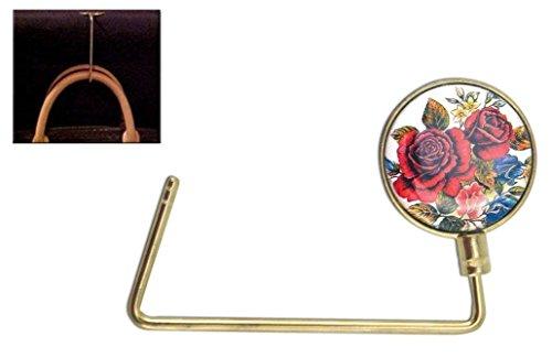 Floral Design Purse Hook, Handbag Hook Purse - Hook Up Em