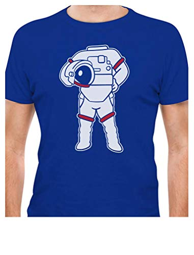 Funny Halloween Astronaut Easy Costume Spaceman Suit T-Shirt Small -