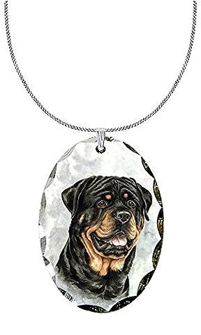 Rottweiler Pendant - Rottweiler Jewelry
