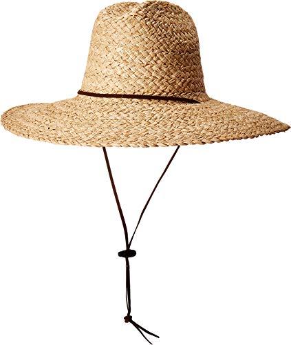 (Pendleton Men's Lifeguard Raffia Hat Natural Raffia LG/XL)