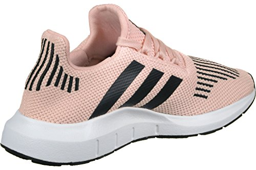 adidas Swift Run J, Zapatillas de Deporte Unisex Niños Rosa (Roshel / Negbas / Ftwbla)