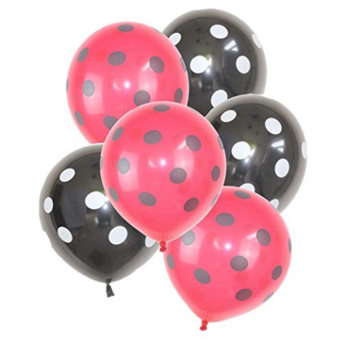 32PCS/set Latex Balloons,12 Inches Polka Dot Latex Balloons for Party Decorations Wedding Decorations and Proposal, 4 Styles Available Gessppo (B) -