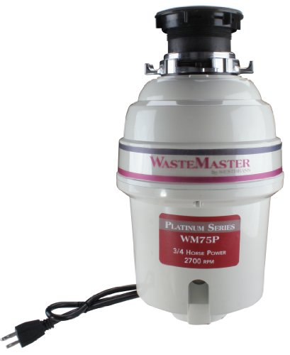 - Westbrass WM75P .75 HP Premium Food Waste Disposal