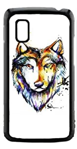 HeartCase Hard Case for Google Nexus 4 LG E960 ( Wolf Animal )