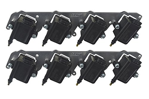 Coil Packs Ls1 (LS Billet Coil Brackets Holley EFI Smart Coil Pack LS1 LS3 LS2 LSX Swap ICT 551575)