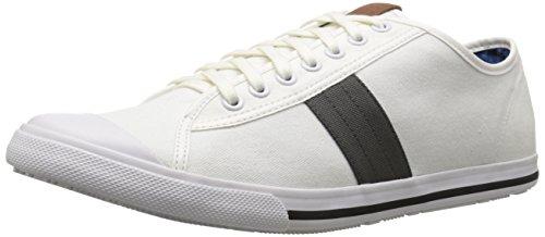 Ben Sherman Menns Eddie Lo Mote Sneaker Off White