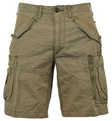 Polo Ralph Lauren Men's Classic-Fit Ripstop Cotton Cargo Shorts - 30 - Mountain Green