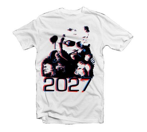 Deus Ex T-Shirt 3D, Größe S