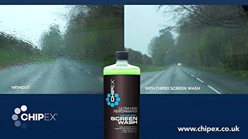 Chipex hidrofóbico limpiaparabrisas Aquaphobic para vehículos, repelente contra la lluvia 1L: Amazon.es: Coche y moto