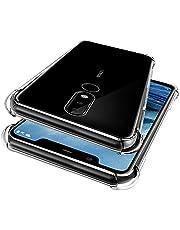 Nokia 5.1 Plus Case, WindCase Transparent Soft Gel TPU Reinforced Corners Cushion Bumper Shockproof Drop Protection Case Cover for Nokia 5.1 Plus