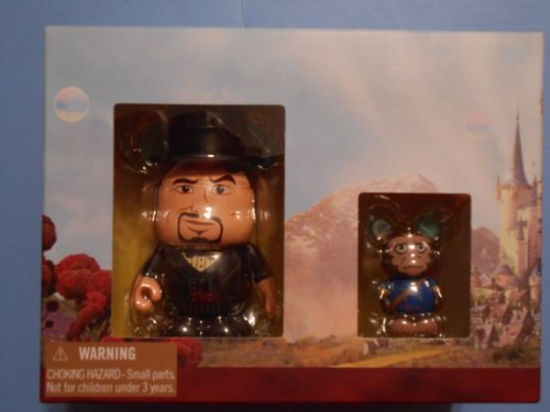 OZ The Great and Powerful Disney Vinylmation 3'' & Jr. Combo Pack Figure Oscar Diggs & Finley CUTE -