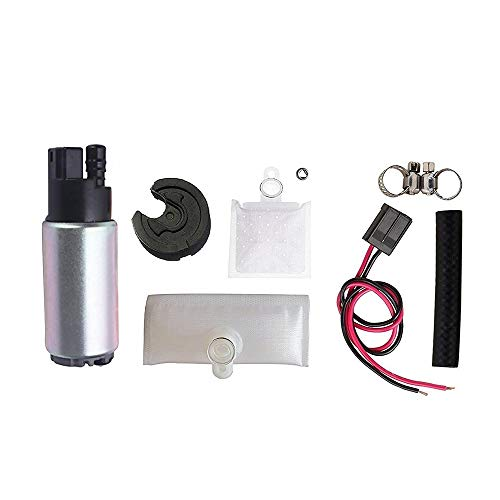 Fuel Pump And Strainer for Cars Trucks SUVs GAS Fuel Pump Universal With Installation Kit Fits Chevrolet Acura Chrysler Dodge Honda Hyundai Subaru OEM # E2068 HFP-382 (2000 Grand Marquis Fuel Pump)
