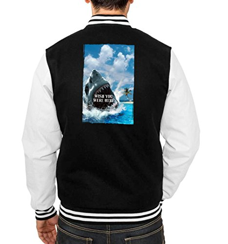 Wish you Were Here College Vest Black Certified Freak