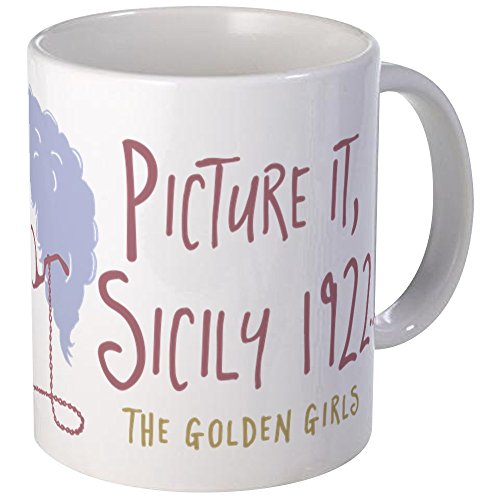 CafePress Golden Girls Picture It Mugs Unique Coffee Mug, Coffee Cup