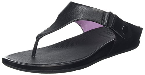 Fitflop Damesschoenen Gladdy Teen Sandaal Zwart