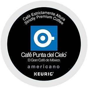 PUNTA DEL CIELO Café Americano Coffee 12 K-cup pods
