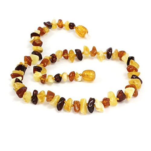 Baltic Amber Teething Necklace For Babies Unisex