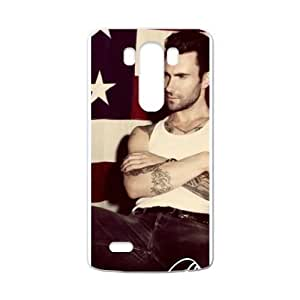 RAROFU Favorite stars Adam Levine Custom Case for LG G3 (Laser Technology)