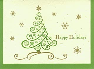 product image for Grow A Note® Holiday Tree Swirl Card 4-Pack