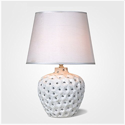 CLG-FLY Nordic Mediterranean wedding table lamp,20×45cm dimmer switch
