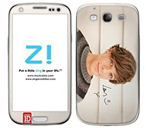 Zing Revolution One Direction Premium Vinyl Adhesive Skin for Samsung Galaxy S 3, Louis Image, MD-1D40415