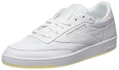 Ginnastica Pearl Donna Reebok Bianco 85 da Lthr C Club Ice Scarpe White White zwSzqx
