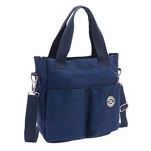 EasyHui Womens Nylon Crossbody Shoulder Bag Messenger Bag Handbags Waterproof Tote Bag Large Travel Mommy Bag from EasyHui