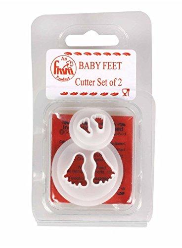 2 X BABY FEET ICING SUGARCRAFT CUTTERS