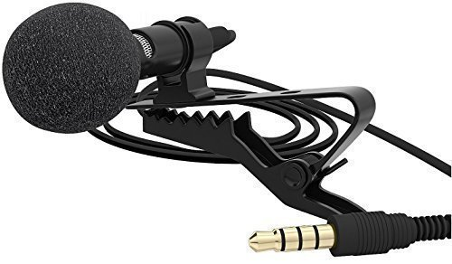 LoveQmall Lavalier Microphone Omnidirectional Condenser product image