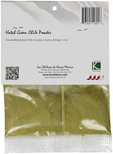 Los Chileros Green Chile Molido (powder), 1 Ounce by Los Chileros (Image #1)