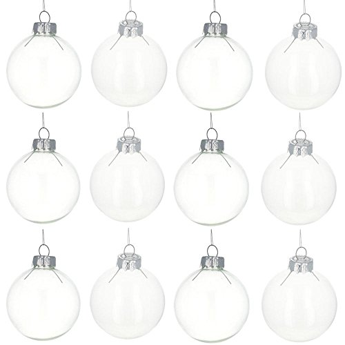 Glass Balls Christmas Ornaments - 2.5