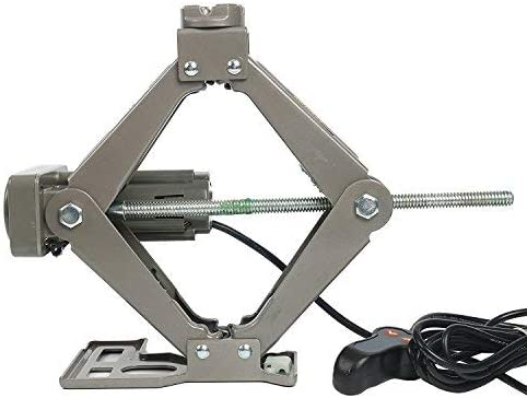 DC 12V Fully Automatic Electric Car Jack 2200lb//1 Ton for Tire Change /& Replacement