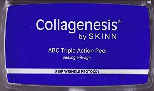 Skinn Collagenesis Deep Wrinkle Protocol ABC Triple Action Peel Set of 4 Peels by kensonic