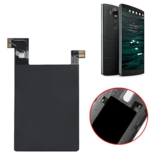 Bessky® 2015 Qi Wireless Charger Charging Sticker Receiver Case with Nfc Ic chip for LG V10
