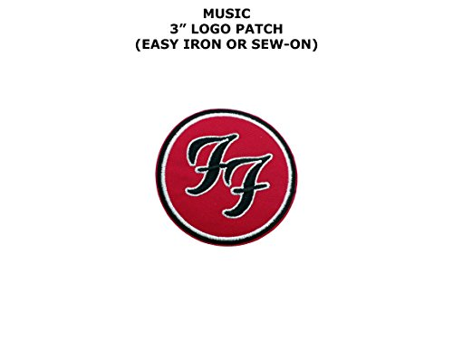 Foo Fighters Costume (Foo Fighters Music Band Embroidered Iron/Sew-on Comic Cartoon Theme Logo Patch/Applique)