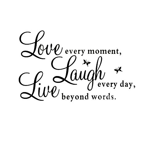 [Removable Vinyl Wall Decals Live Love Laugh Wall Art Stickers To Accent Your Lifestyle -- Home, Office, Dorm, Or Any Space,] (Animal That Starts With The Letter N)
