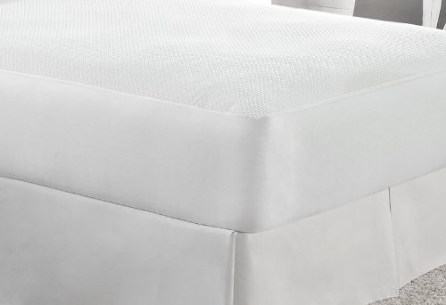 Aller-Free Ultimate Comfort Knit Mattress Protector, Twin, W