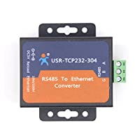 USR USR-TCP232-304 Serial RS485 to TCP/IP Ethernet Server Converter Module with Built-in Webpage DHCP/DNS Supported