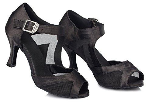 Moderno Jazz 7 e 5cm Heel Black 35 Nero Donna EU Joymod MGM tAa5qq
