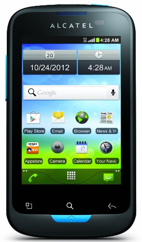 Alcatel Shockwave Contract Phone Cellular
