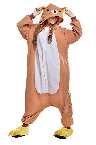 BELIFECOS Unisex Adult Pajamas Plush One Piece Adult