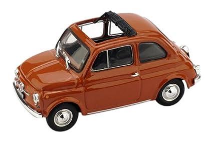 Amazon Com Brumm Bm0454 14 Fiat 500 F 1965 72 Aperta Rosso Corallo