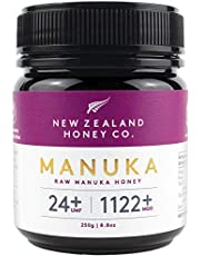 New Zealand Honey Co. Raw Manuka Honey UMF 24+ | MGO 1122+, 8.8oz / 250g