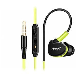 fenyi dentro de oído earbud auriculares auriculares estéreo de 3,5mm con micrófono para todo Mobile teléfono celular iPhone 6