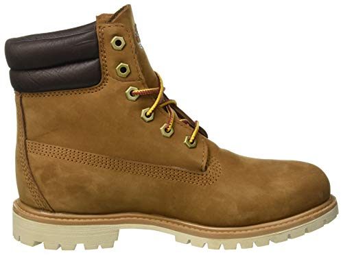 Waterproof 919 light Inch Waterville Nubuck Timberland 6 Bottes Basic Marron Femme Brown HUTInx