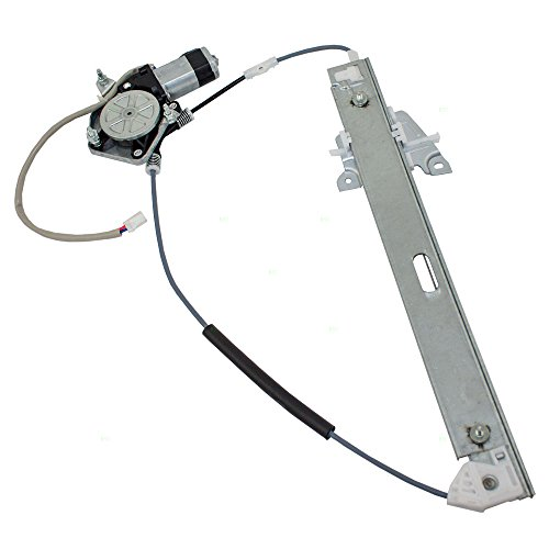 Drivers Rear Power Window Lift Regulator with Motor Assembly Replacement for Mazda Van LC62-73-590A -