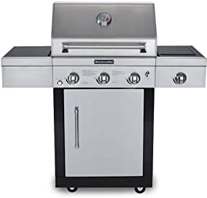 KitchenAid 25-Inch 3 Burner Propane Gas Grill