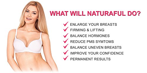 NATURAFUL - (3 JAR) TOP RATED Breast Enhancement Cream - Natural Breast Enlargement, Firming and Lifting Cream | Trusted by Over 100,000 Users & Includes Handbook | $232 Value Bundle by Naturaful (Image #3)